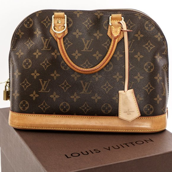 Louis Vuitton Handbags - LOUIS VUITTON Retail Set Alma PM !
